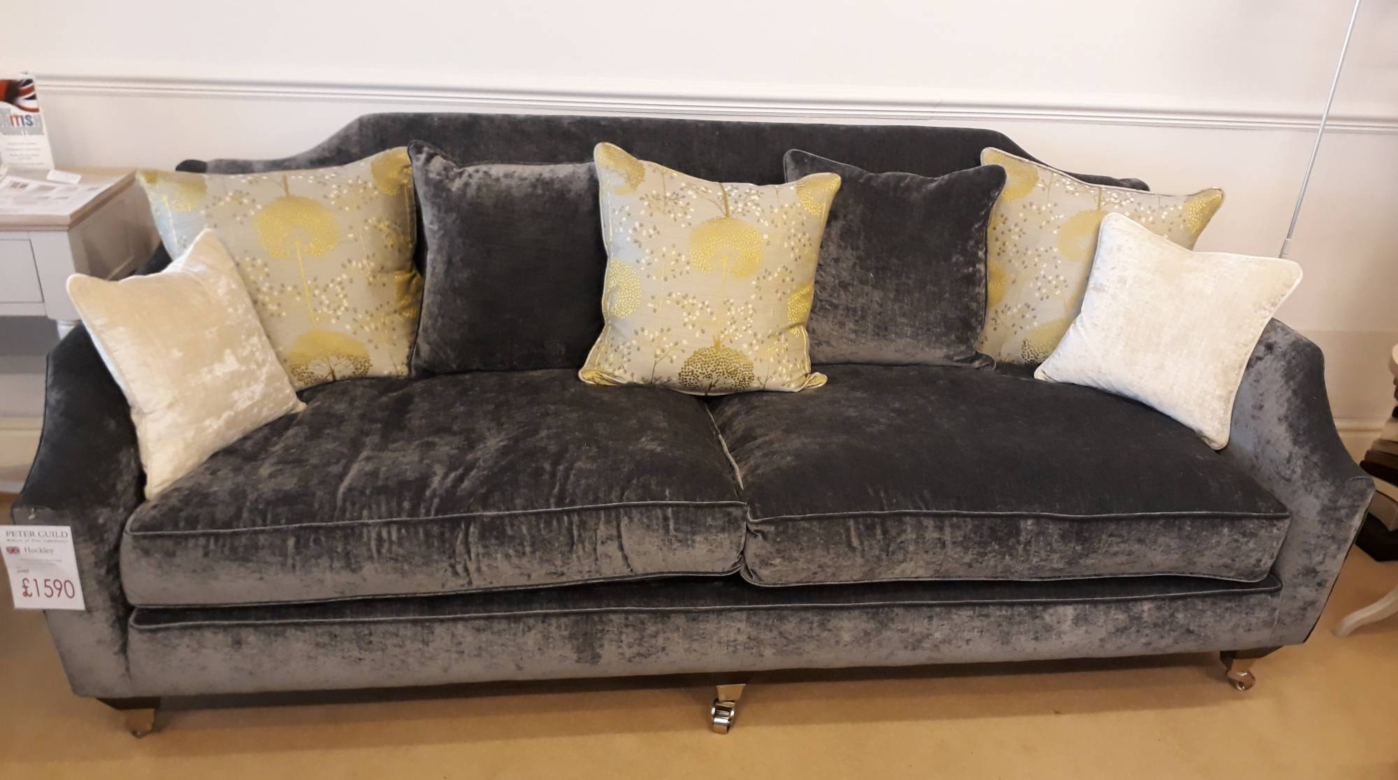 Peter Guild Hockley Large Sofa (2 Cushions) - Large Sofas ...