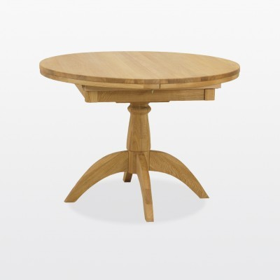 Wellington Round Extending Single Pedestal Dining Table