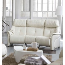 Himolla Chester Curved 3 Seater Manual Reclining Sofa