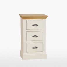 Colletta Bedside table with 3 drawers