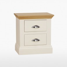 Colletta Large bedside table with 2 drawers