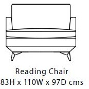 Duresta Meridian Reading Chair