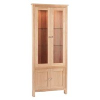 Corndell Nimbus Corner Glazed Display Cabinet
