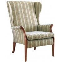 Parker Knoll Froxfield Wing Fabric Chair