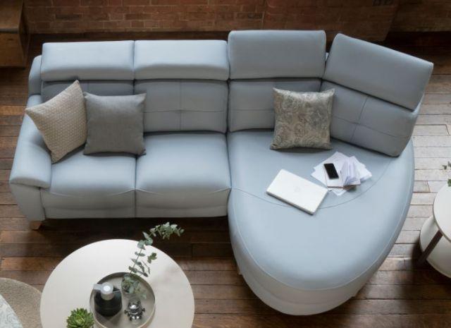 Parker Knoll Evolution Design 1702 Chaise End Sofa