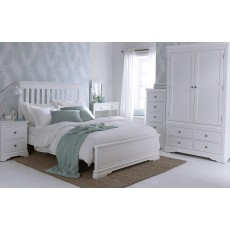Sophia White Bedroom Collection
