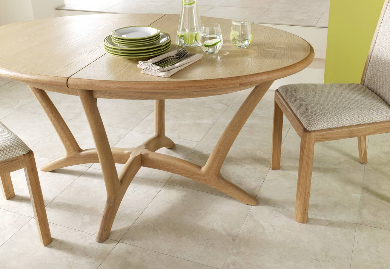 Winsor Furniture Stockholm Oval Extending Dining Table Tables Elphicks Of Huntingdon