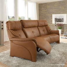 Himolla Chester Curved Sofa Home Cinema With Cumuly Function And Retractable Middle Back And Rack