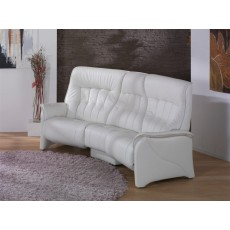 Himolla Rhine Trapezoidal Sofa with Cumuly Function + Rack Tiltable Middle Back