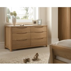 Stockholm 6 Drawer Wide Chest