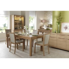 Stockholm Dining Table W120/170cm