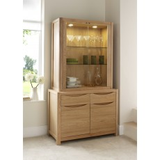 Stockholm Display Top Unit for Large Sideboard