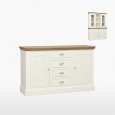 Colletta Medium centre drawer dresser base