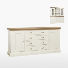 Colletta Large centre drawer dresser base