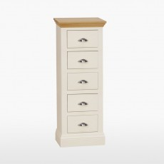 Colletta Narrow chest with 5 drawers
