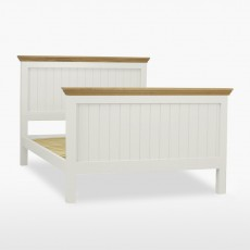 Colletta King Size Panel Bed (High Foot End)