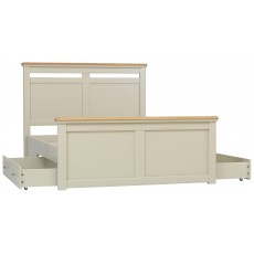 Crofton Double Size Solid Bed with Storage