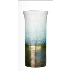 Elemental Khione Tall Vase Frost