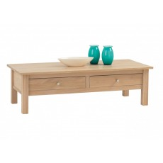 Corndell Nimbus Midi Coffee Table with 2 Drawers