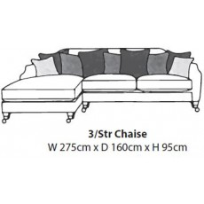 Hockley 3 Seater Chaise