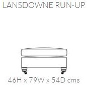 Duresta Lansdowne Run-up