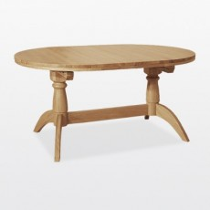 Wellington Oval Extending Double Pedestal Dining Table
