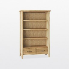 Wellington Small 2 Drawer Bookcase