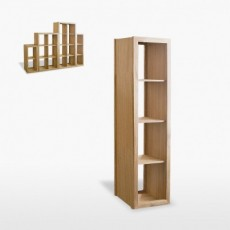 Wellington Venice Narrow Tall Shelf Unit