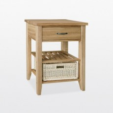 Wellington Single Basket Console Table