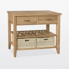 Wellington Double Basket Console Table