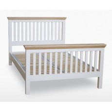 Colletta King Size Slat Bed (High Foot End)