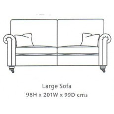 Duresta Beaminster Large Sofa