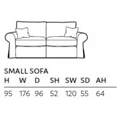 Lavinia Small Sofa