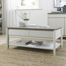 Empire Coffee Table with Drawer