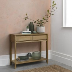 Empire Console Table with Drawer