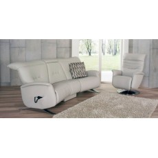 Himolla Cygnet Curved 3 Seater Manual Reclining Sofa
