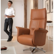Rom Aloe Swivel Chair