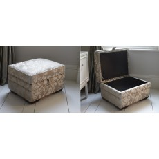 Parker Knoll Lift Top Footstool