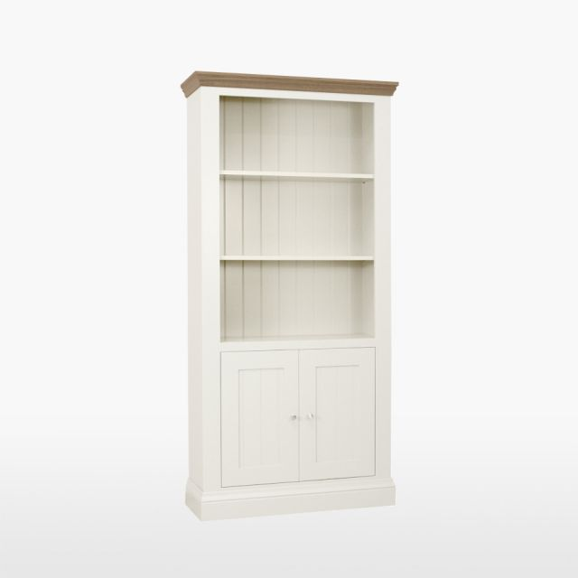 Colletta Bookcase with 2 doors