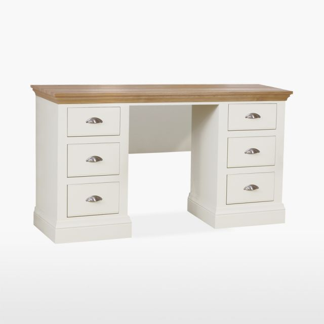 Colletta Double Pedestal Dressing table