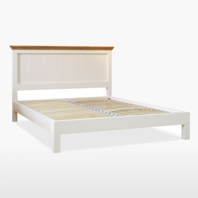 Colletta King Size Panel Bed (Low Foot End)