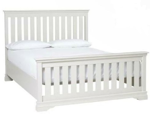 Alyssa Imperial 5ft Bed (High Foot End) - Painted Top