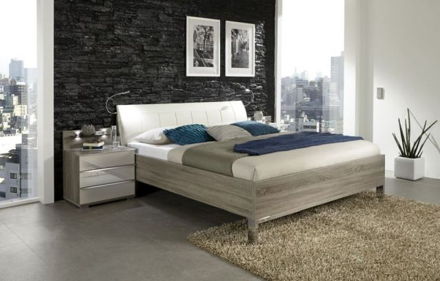 Loft V.I.P Futon Bed with Faux Leather Headboard